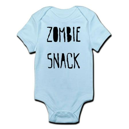 CafePress - Zombie Snack Infant Bodysuit - Baby Light Bodysuit - Zombie Babies