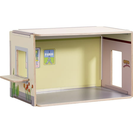 HABA Little Friends Dollhouse Annex - Modular Extension for Villa Sunshine & Dream (Haba Houses)
