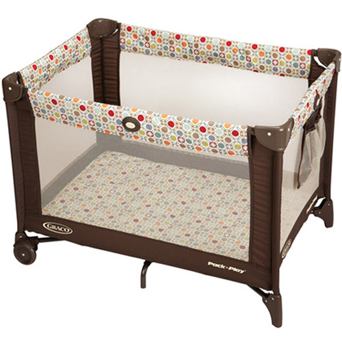 Graco Pack 'N Play with Automatic Folding Feet Playard, Twister