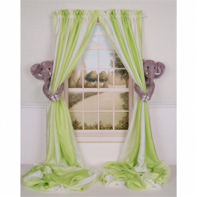 Valance Tie Backs  Jungle Animals Curtain Panel Pillow Cover