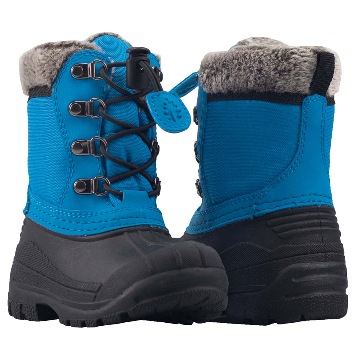 Oakiwear Winter Snow Boots For Kids Insulated Waterproof Rubber Nonslip Boy Or Girl Children Shoes