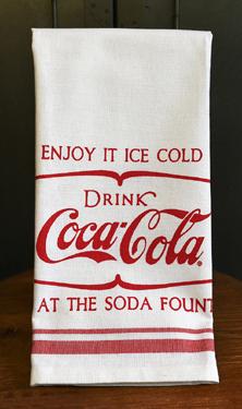 Beautiful Coca Cola Tea Towels