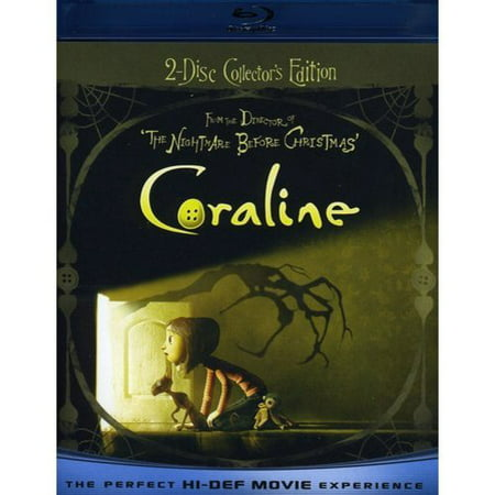 Coraline (2-Disc) (Blu-ray) (BD-Live + DVD) (Widescreen)
