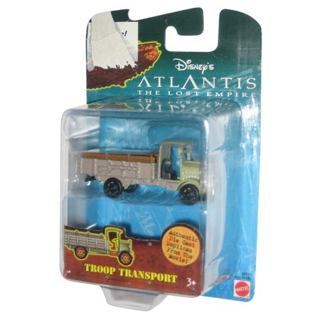 Disney Atlantis The Lost Empire Movie Troop Transport Die-Cast Replica Toy Car
