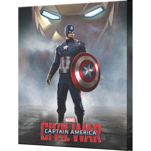 Pyramid America Captain America: Civil War Standing Canvas Wall D cor