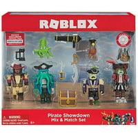 Roblox Pirate Showdown Mix & Match Figure Assortment, 4 Pack