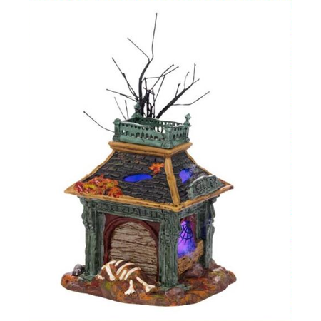 Dept 56 Halloween Village Killer's Castle Lighted 4025402 Retired