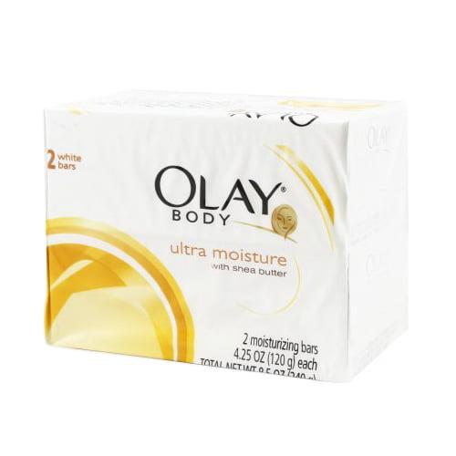 Olay Ultra Moisture Body Bar Soap With Shea Butter, 4.25 oz
