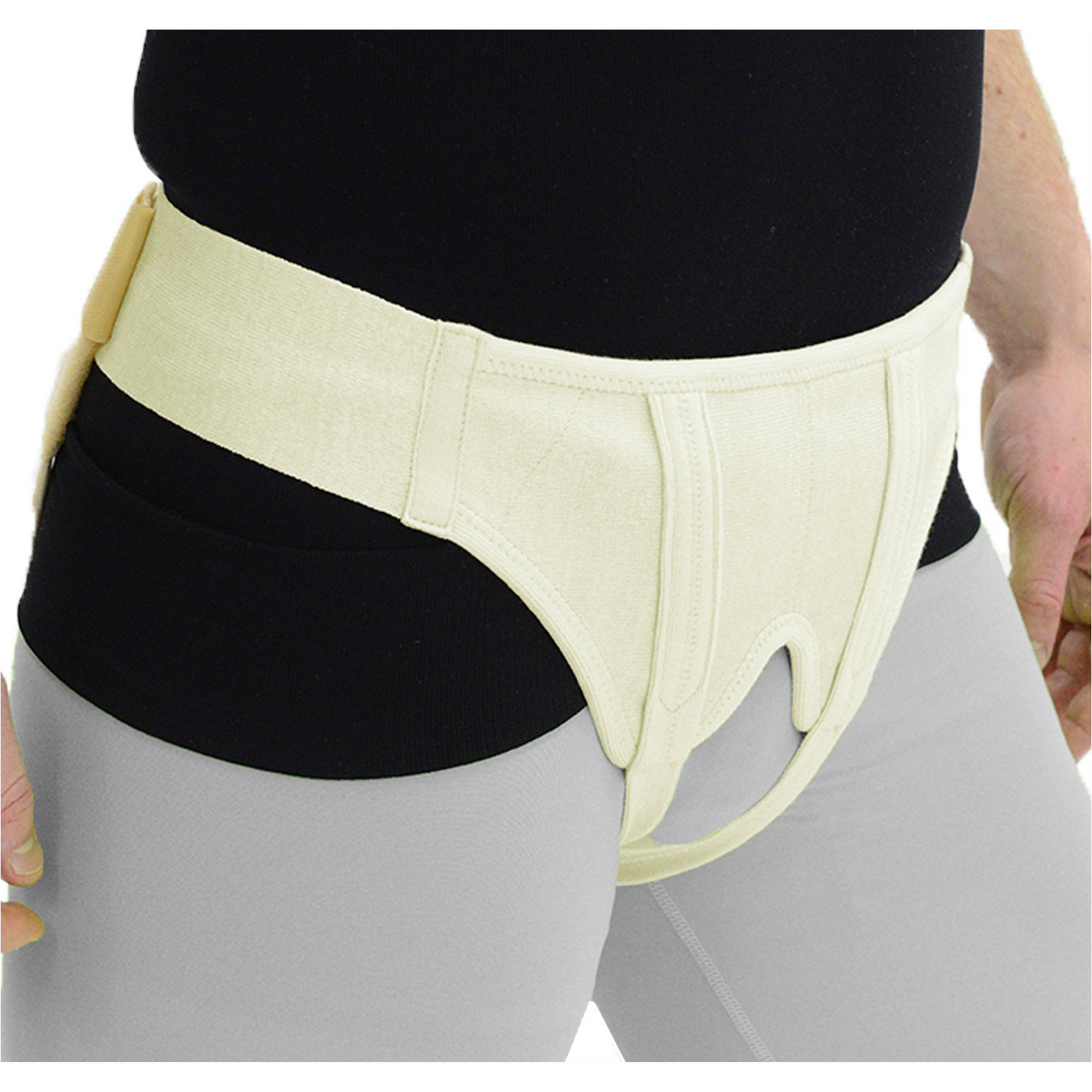 ITA-MED Deluxe Hernia Support - Double Sided with Removable Inserts: HS-484