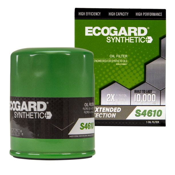 ECOGARD S4610 Premium Spin-On Engine Oil Filter For