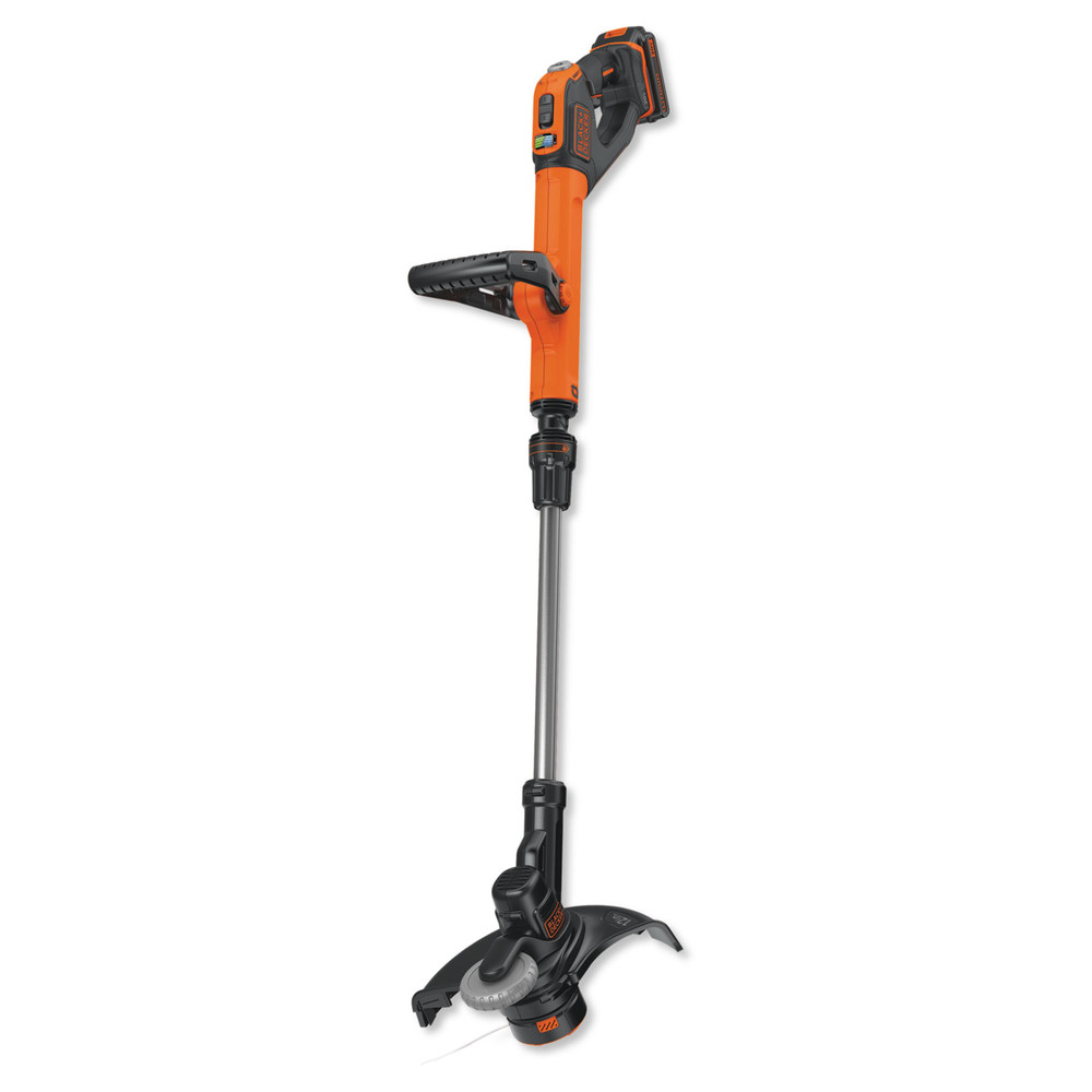 Black & Decker LSTE525 20V MAX Lithium-Ion 2 Battery Cordless String Trimmer   Edger by Stanley Black & Decker