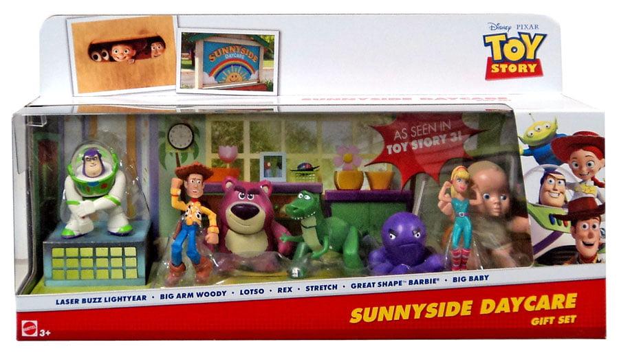Toy Story 20th Anniversary Sunnyside Daycare Gift Set Mini Figure 7-Pack [Buzz Lightyear, Woody, Lotso, Rex,... by Mattel