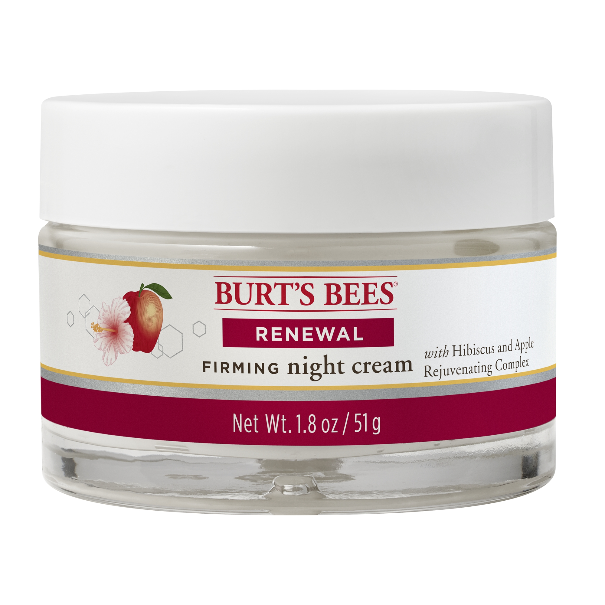 Best Bust Firming Creams - Burt's Bees Renewal Night Cream, Firming Night Cream Review