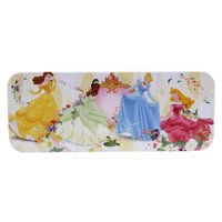 Disney Princess Elegant Floral Twirls Kids Tin Pencil Box