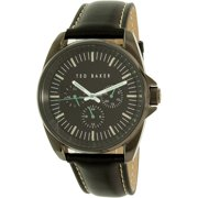 Ted Baker Men's 10025262 Black Leather Quartz Watch