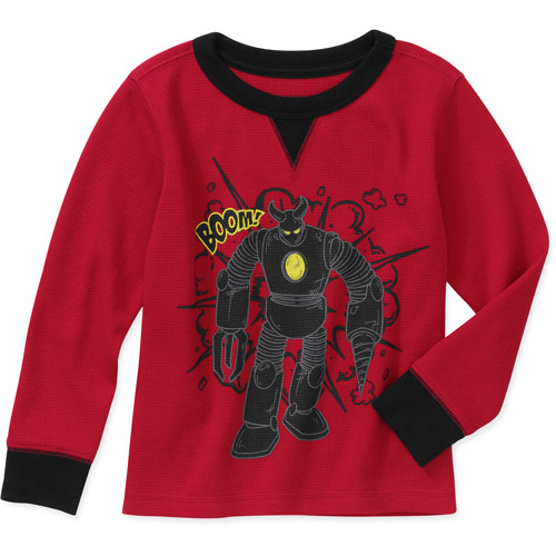 Healthtex Baby Toddler Boy Graphic Thermal Tee