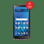 Tracfone Motorola e6, 16GB, Black – Prepaid Smartphone