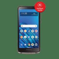 Tracfone Motorola Moto e6, 16GB Black  Prepaid Smartphone