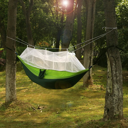 2-Person Parachute Hammock with Built-in Mosquito