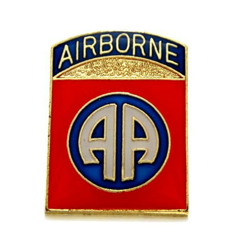 Airborne Army Hat Pins (82nd Airborne Divison US Army Lapel Hat Pin Gift Military PPM1927 (1 pin) )