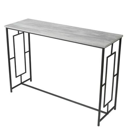 Pleasing Adeco Ft0208 1 Console Desk Sofa Square Designs For Living Spiritservingveterans Wood Chair Design Ideas Spiritservingveteransorg
