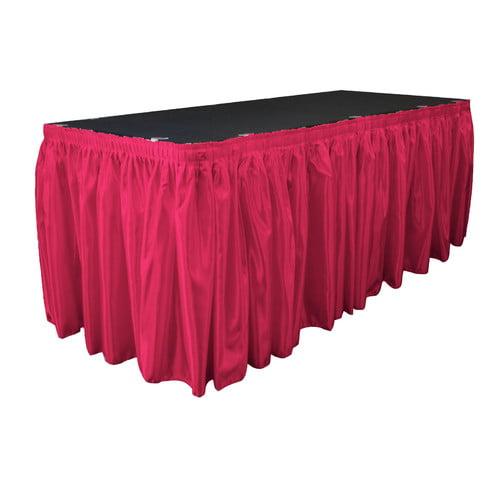 LA Linen Bridal Table Skirt