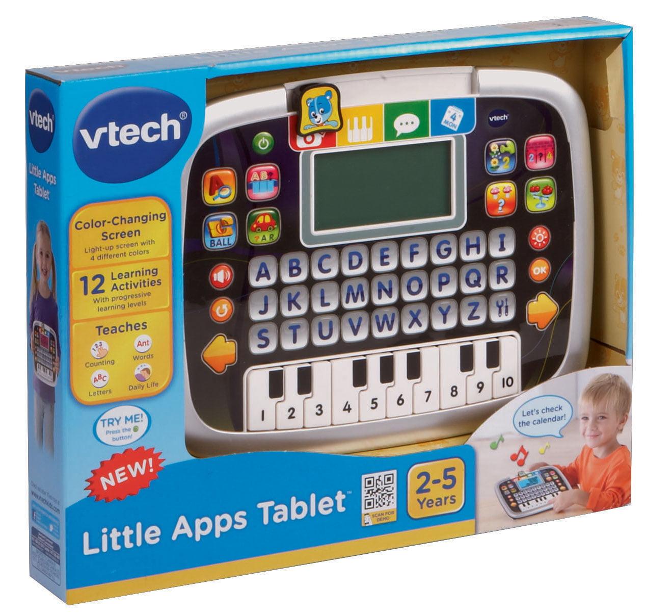 Vtech Little Apps Tablet Tablet For Toddlers Learning Toy Walmart Com Walmart Com
