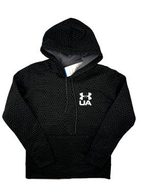 Product Image Womens Under Armour Hoodie Coldgear Printed Pullover Black  Magenta S M L XL e46c6c2ec