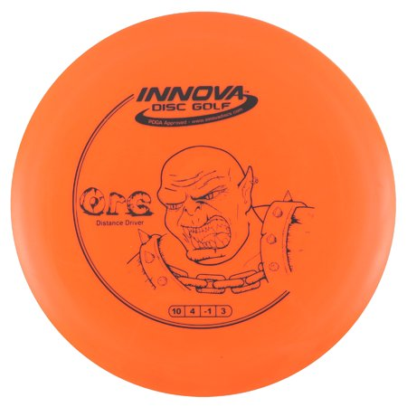 Innova DX Orc 140-150g Distance Driver Golf Disc [Colors may vary] -