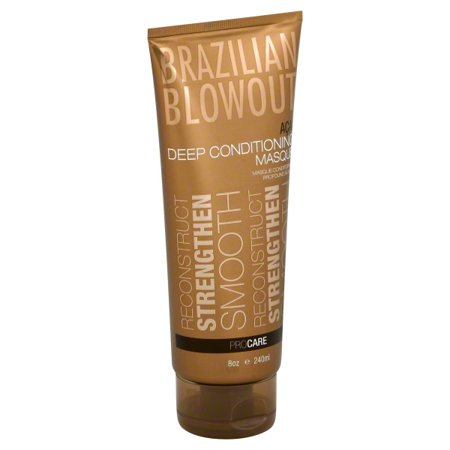 BRAZIL BLOWOUT DEEP CD MSQ 8 OZ (Best Products For Brazilian Blowout Hair)