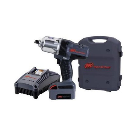 Ingersoll Rand W7150 K1 Iqv20 Li Ion 1 2   Drive Impact Wrench Kit With Charger And One Battery