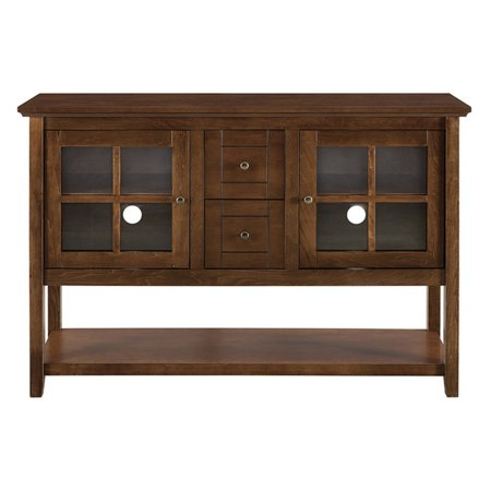Walker Edison Wood 52 in. Console Table Buffet TV Stand ()