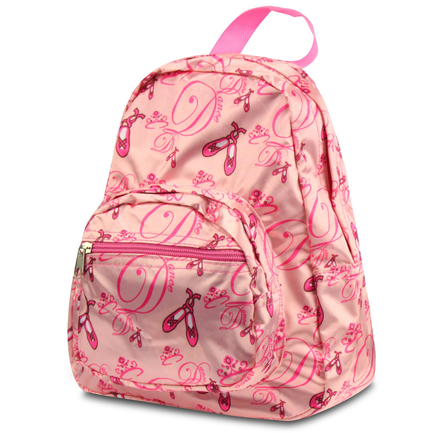 Kids Backpack School Bag by Zodaca Fashion Small Bookbag Shoulder Children - Pink Ballerina