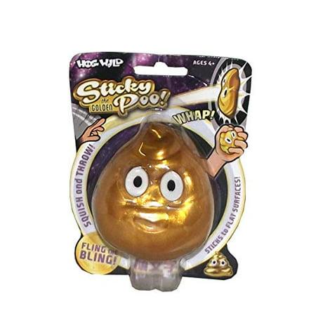 Sticky Toys (Hog Wild Toys Gold Bling Sticky Poo)