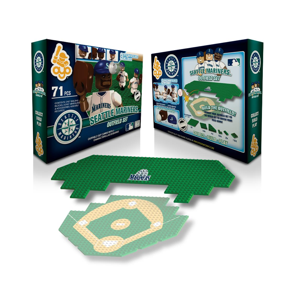 OYO MLB Outfield Set - Seattle Mariners Seattle Mariners OYOBBSEAFOS