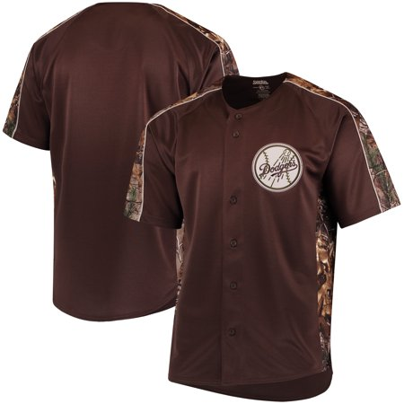 Los Angeles Dodgers Stitches Replica Jersey - Realtree Camo ... 3fd767ebf6a