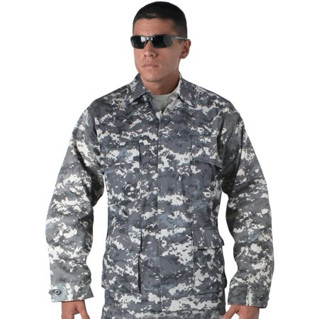 Rothco Mens Subdued Urban Digital Camo BDU Shirt