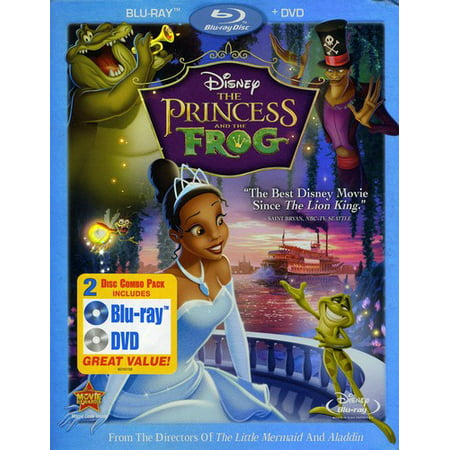 The Princess And The Frog (Blu-ray + DVD) (The Princess And The Frog The Shadow Man)