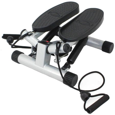 Multi Sports Stepper (Sunny Health & Fitness Twisting Stair Stepper Step Machine w/ Resistance Bands and LCD Monitor - NO.)