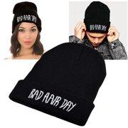 Zodaca Black Style 2 Unisex Knit Hip-hop Beanie Hats