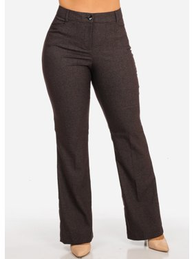 Juniors Wear-to-Work Pants - Walmart.com