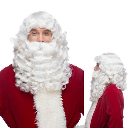 Sepia Costume Santa Jumbo X Synthetic Wig White