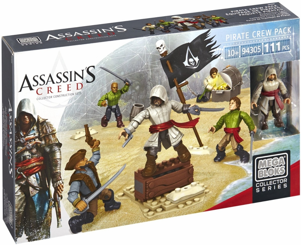 Assassin's Creed Pirate Crew Pack Set Mega Bloks 94305 by Mega Brands America - Megabloks