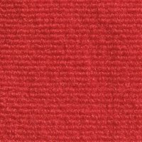 Indoor/Outdoor Carpet with Rubber Marine Backing - Red 6' x 10' - Several Sizes Available - Carpet Flooring for Patio, Porch, Deck, Boat, Basement or Garage