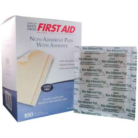 Non-Adherent Dressings - Adhesive Strips, 3