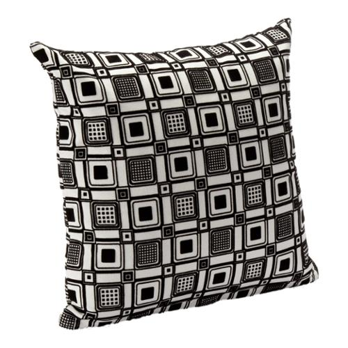 "Geometric Print Square Root Accent Pillow Square Root 20"" Accent Pillow"