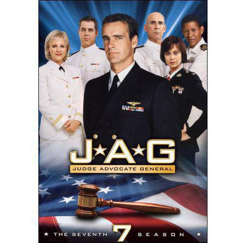 JAG-7TH SEASON COMPLETE (DVD/5DISCS)