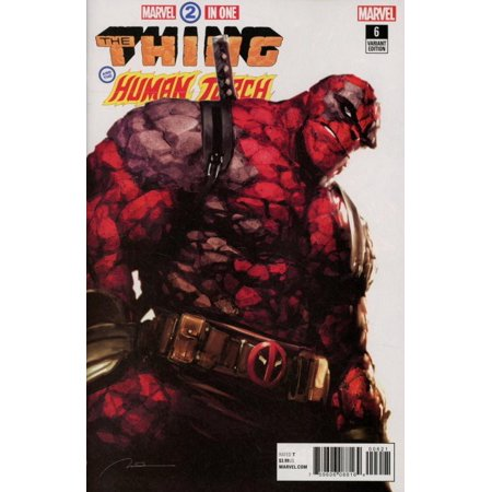 Marvel Two in One #6 The Thing & The Human Torch [Parel Deadpool Variant]