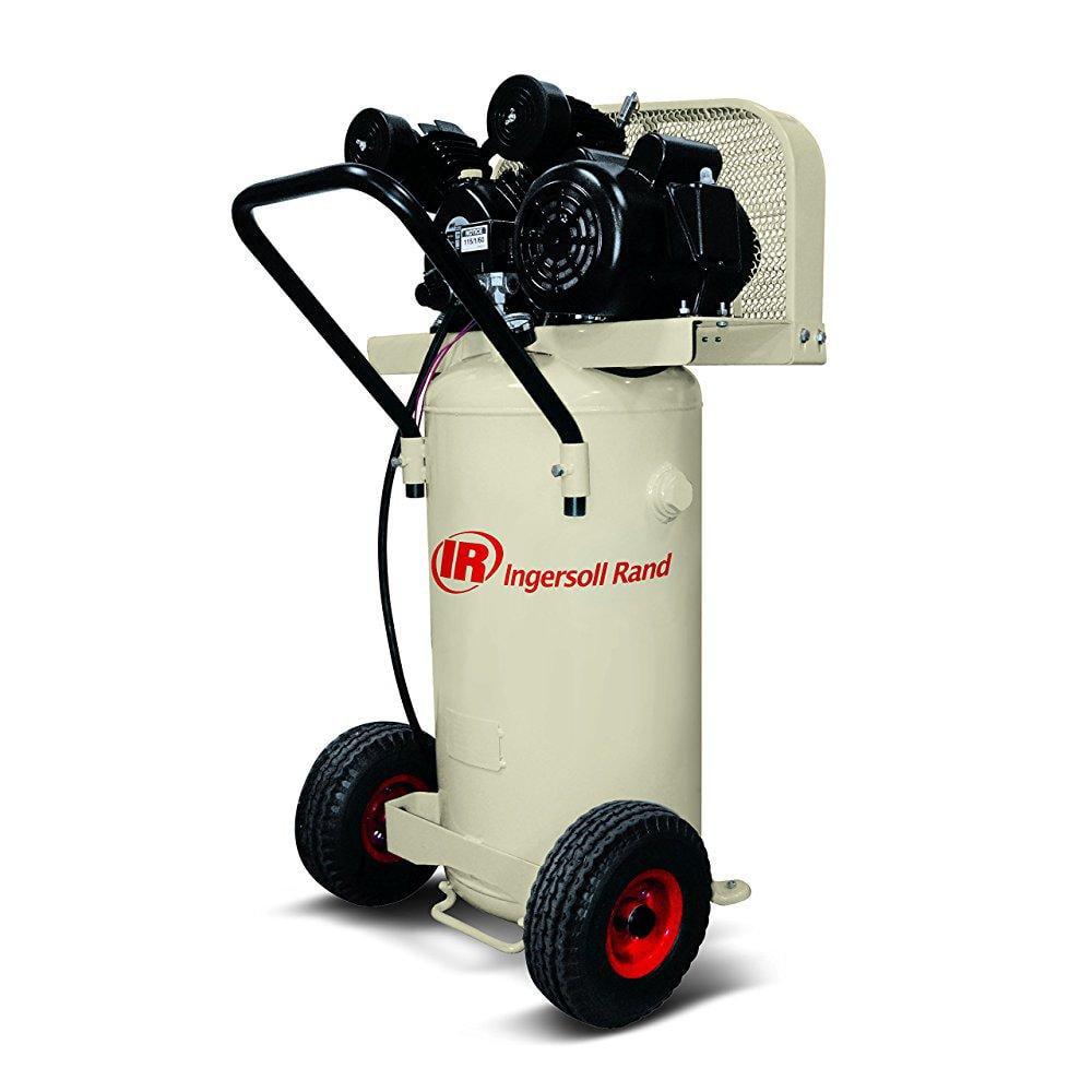 ingersoll rand p1.5iu-a9 2 hp, single stage, 20 gallon vertical tank, 115v, garage mate air compressor