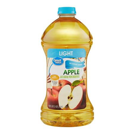 - (2 Pack) Great Value Light Juice, Apple, 96 Fl Oz